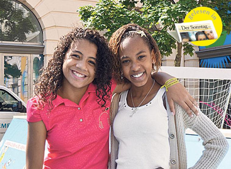 jugendlich brasilianische Mädchen