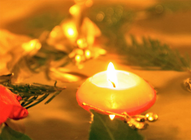Kerzenstimmung im Advent