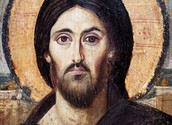https://de.wikipedia.org/wiki/Christus_Pantokrator_(Sinai)#/media/Datei:Christ_Icon_Sinai_6th_century.jpg gemeinfrei