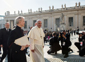 Papst Franziskus/ Mazur/catholicnews.org.uk
