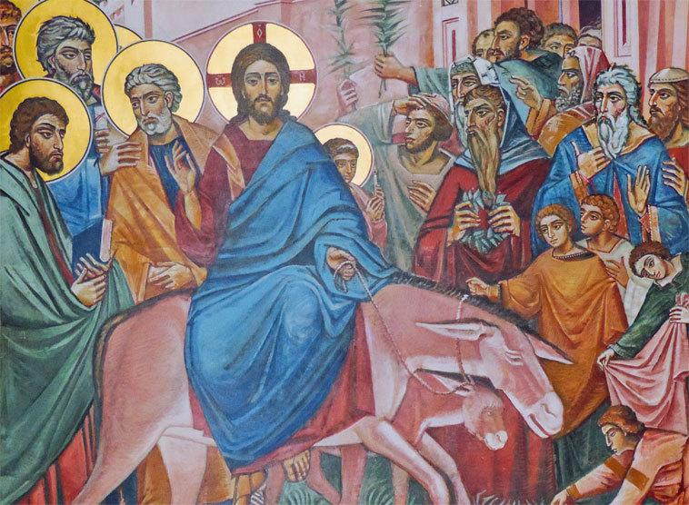 In jerusalem einzug jesus Unterrichtsentwurf Religion: