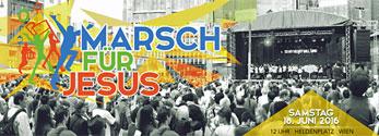 Marsch für Jesus am 18. Juni 2016