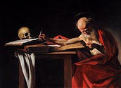Wikipedia/gemeinfrei https://de.wikipedia.org/wiki/Datei:Saint_Jerome_Writing-Caravaggio_(1605-6).jpg