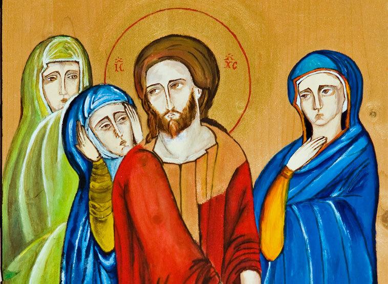 Bildergebnis für Frauen um Jesus