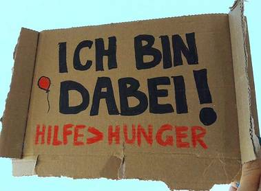 24h Aktion: Hunger-Not-Hilfe