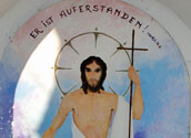 Auferstandener Jesus in Pyhra/goestl.globl.net, Markus Göstl