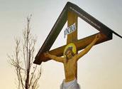 Jesus am Kreuz/bilderbox.com