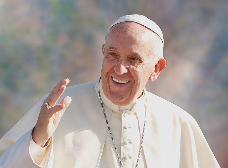 Papst Franziskus Krank